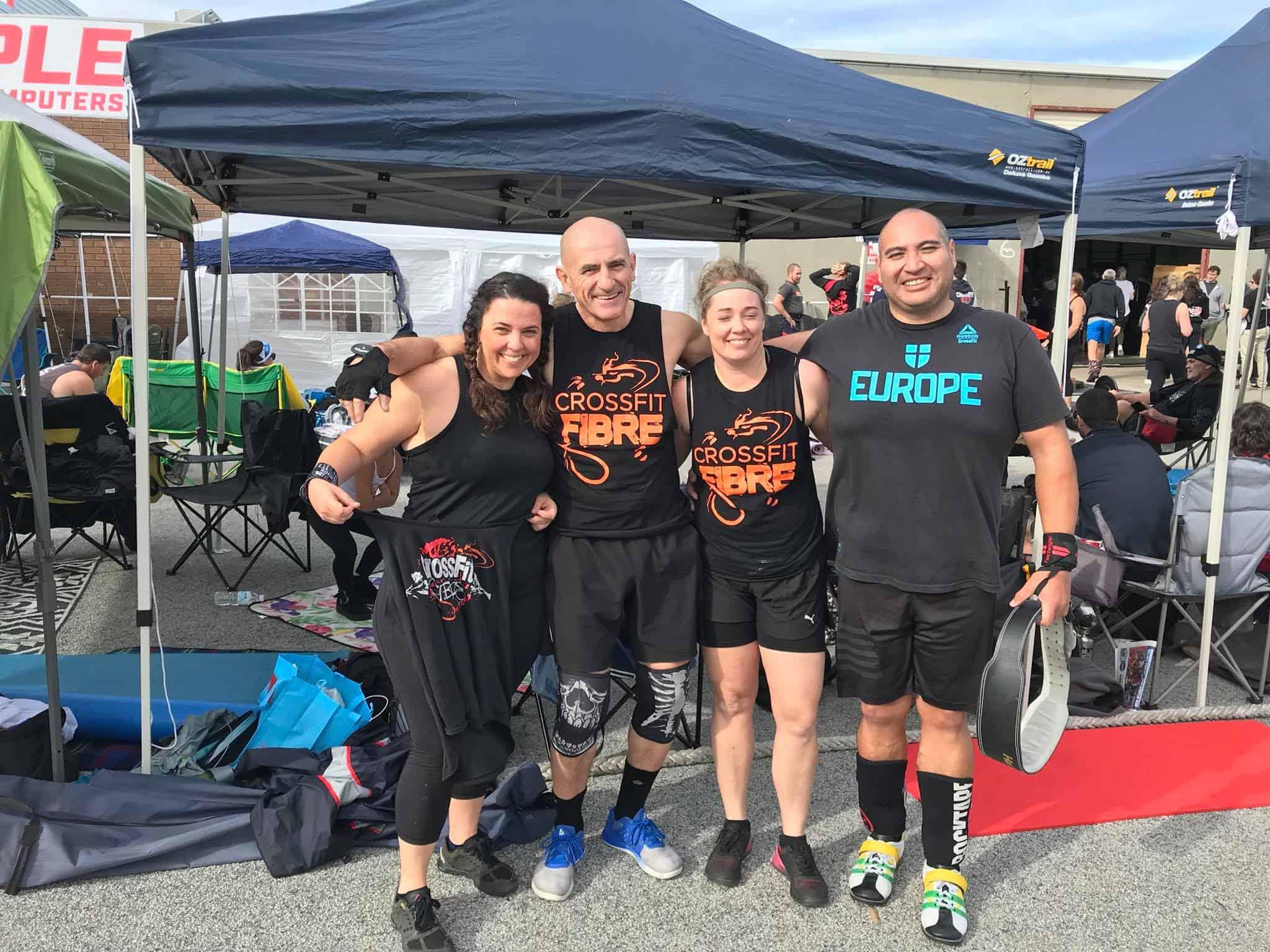 Masters CrossFIt CrossFit Fibre Athletes